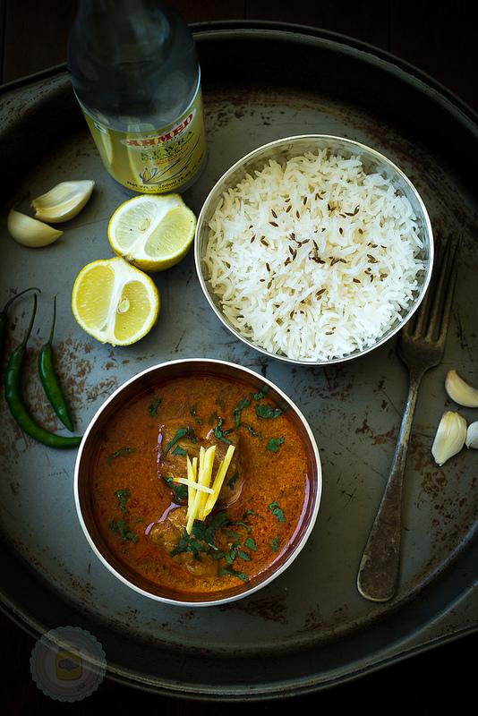 Mum's Chicken Korma Curry