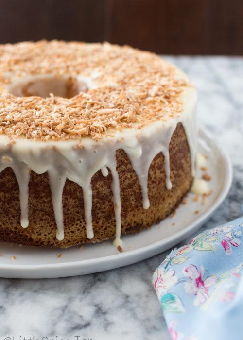 Louisiana Orange Crunch Cake