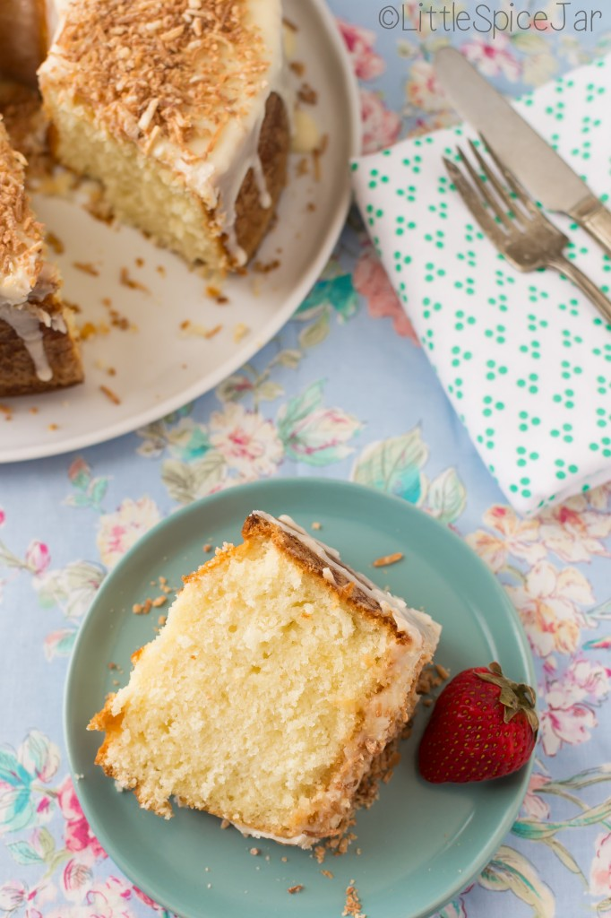 Louisiana Crunch Cake 9