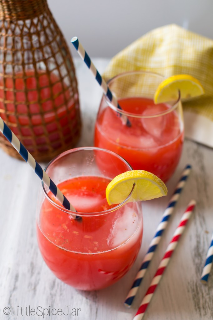 Summer Strawberry Lemonade 6