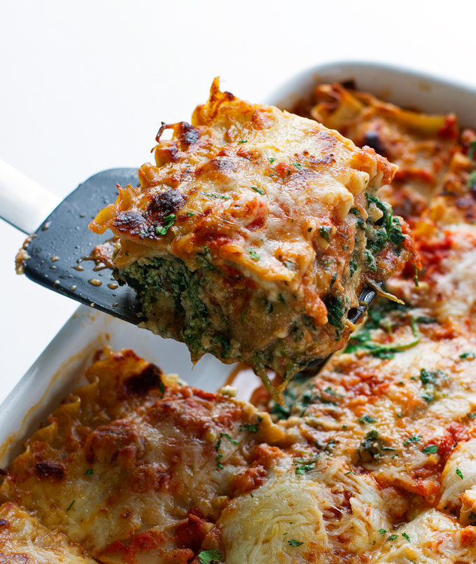 Wild Mushroom and Spinach Lasagne Recipe
