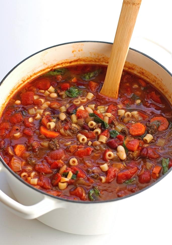 Pasta E Fagioli Soup Olive Garden Copycat Recipe