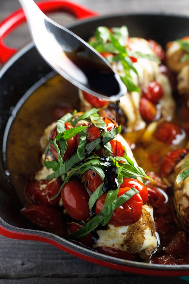 Baked Caprese Chicken Recipe Little Spice Jar