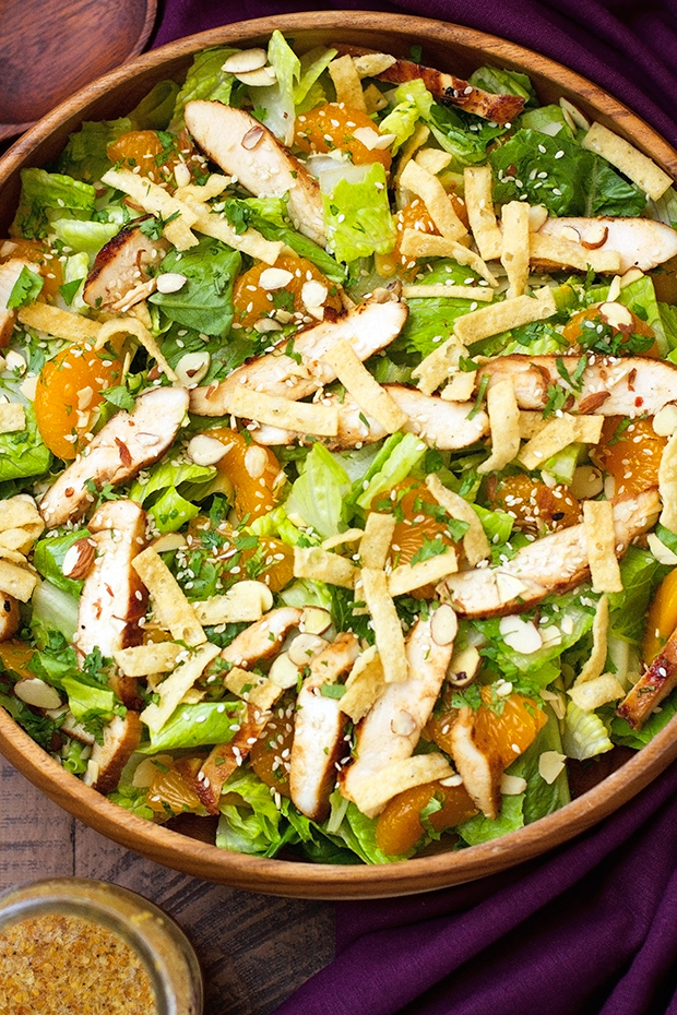 Asian Sesame Chicken Salad Recipe Little Spice Jar