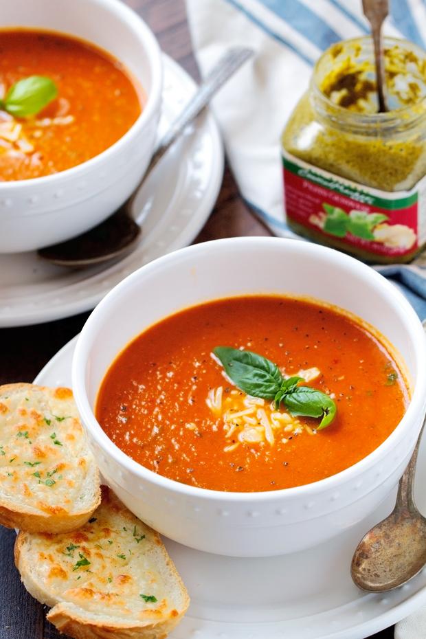 secret ingredient tomato basil soup recipe. Black Bedroom Furniture Sets. Home Design Ideas