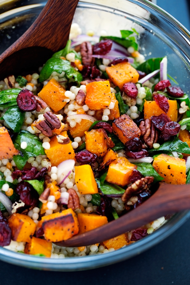 Couscous Salad With Butternut Squash And Cranberries ...