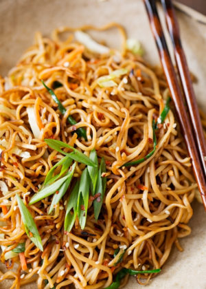 Cantonese style pan fried noodles recipe little spice jar cantonese style pan fried noodles forumfinder