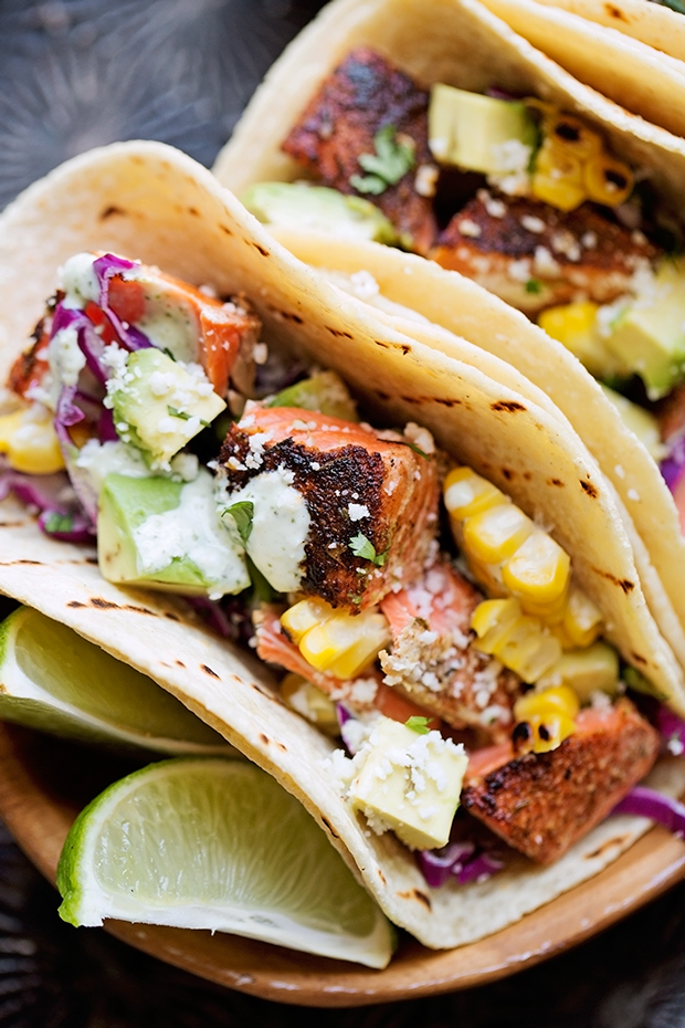 Blackened-Salmon-Tacos-with-Jalapeno-Lime-Crema-8
