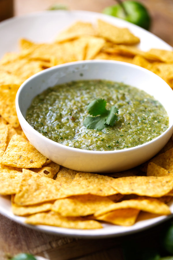 Homemade-Salsa-Verde-(Tomatillo-Salsa)-6