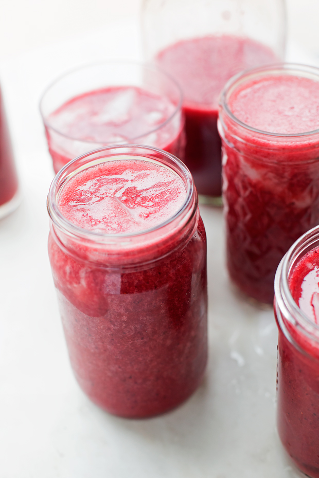 Mixed Berry Agua Frescas
