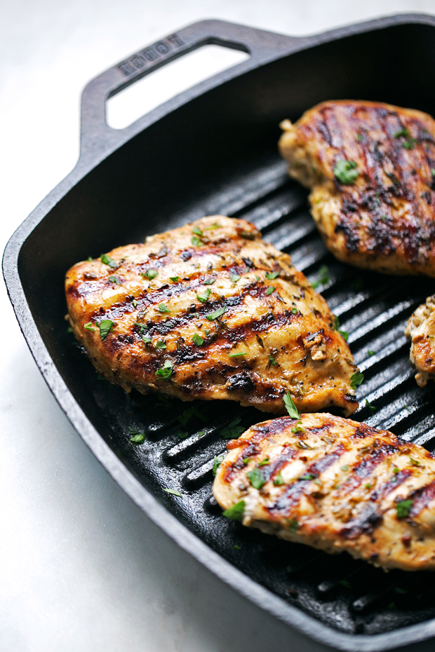 The Easiest Greek Grilled Chicken