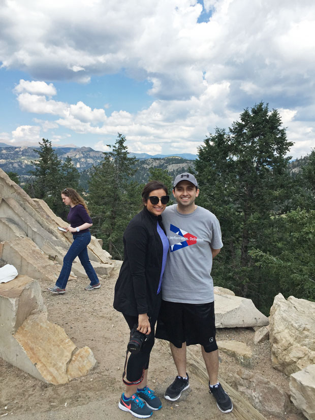 Colorado Trip - A slice of life post sharing all of our favorite spots from our trip to Colorado! #denver #vail #rockymountainnationalpark #redrocks | Littlespicejar.com