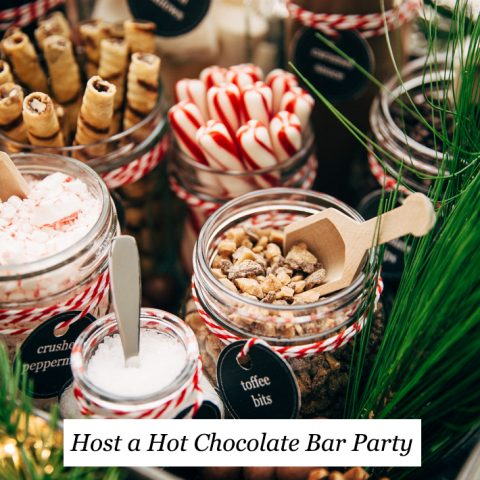 Hot Chocolate Bar Party The Best Hot Chocolate Recipe Little Spice Jar