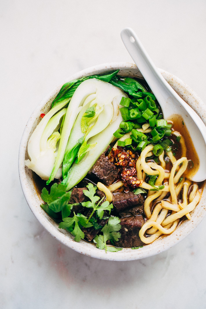 Weekend Taiwanese Beef Noodle Soup