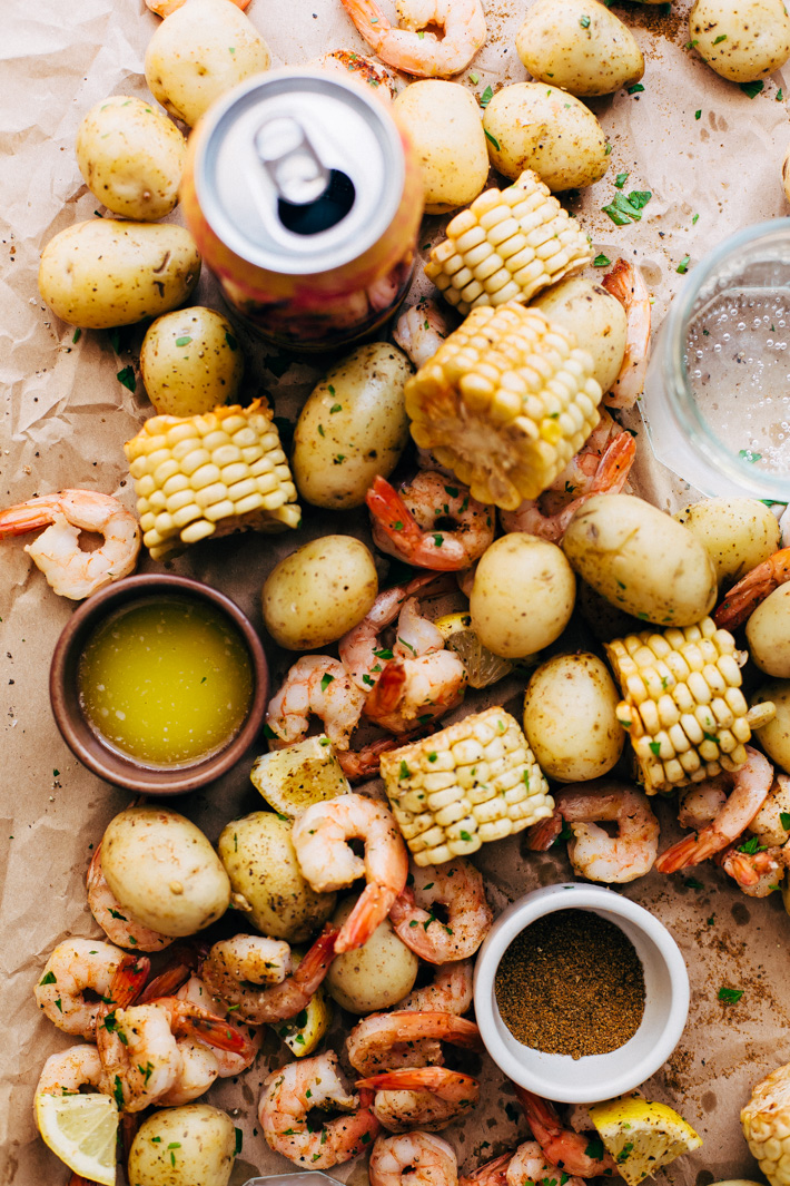 Garlic Loaded Southern Style Shrimp Boil