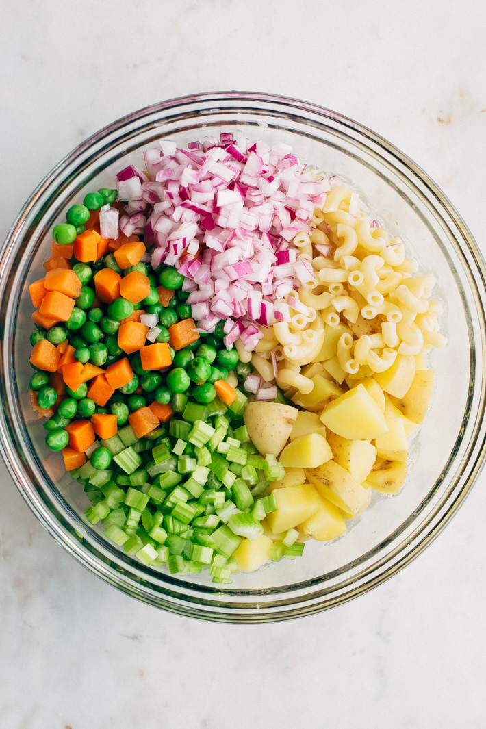 Mashup Macaroni Potato Salad