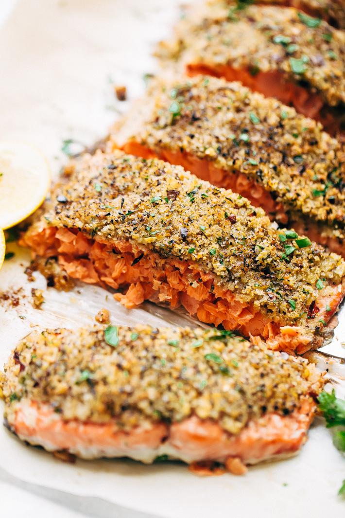 Baked Lemon Pepper Salmon Recipe