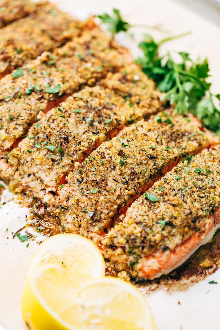 Baked Lemon Pepper Salmon - Jo Cooks