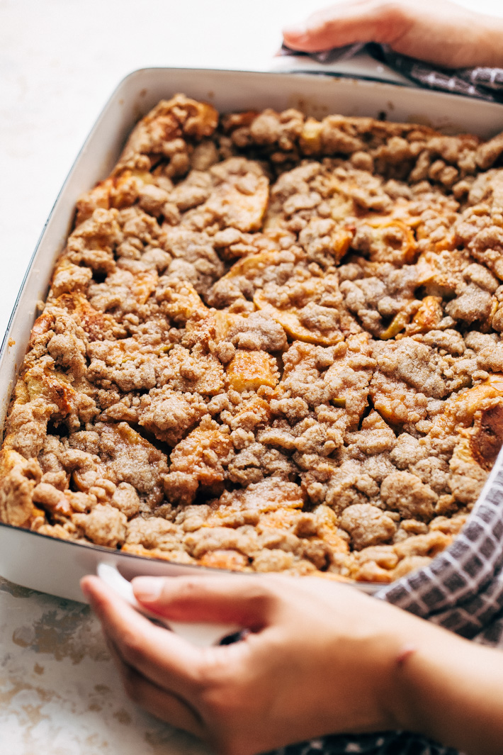 Apple Pie French Toast Bake (or Casserole)