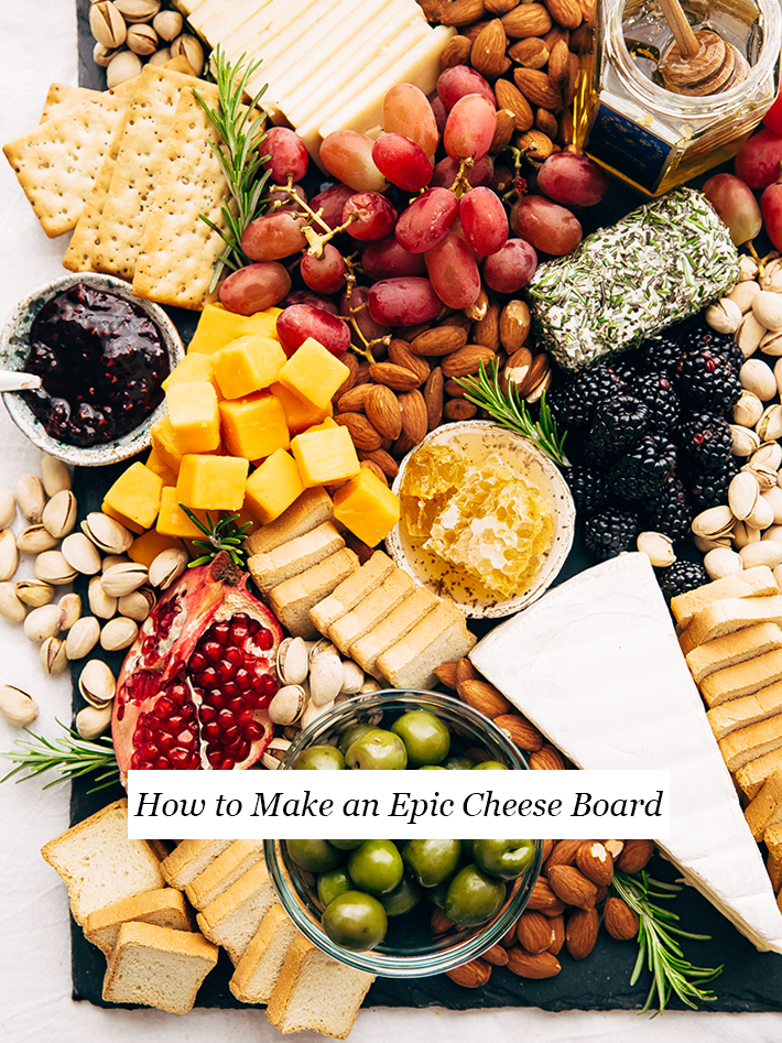 How to Make an Epic Holiday Cheese Board