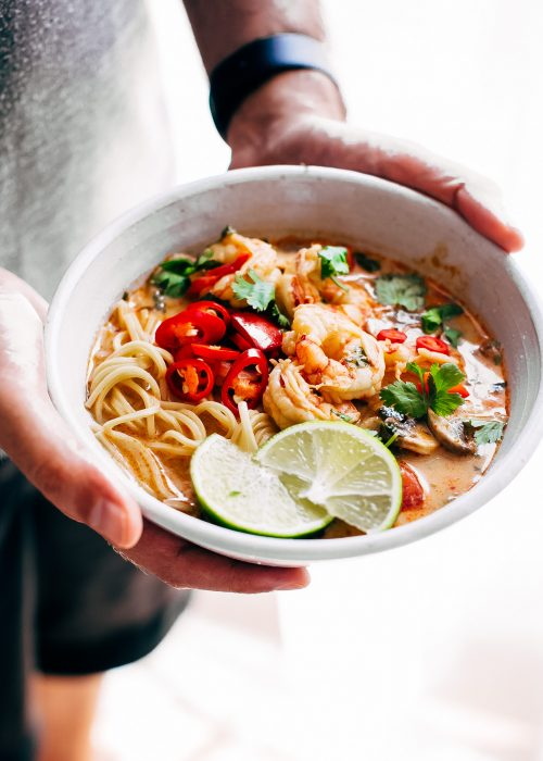 Little spice jar food blog simple flavorful food recipes made easy creamy tom yum ramen forumfinder Choice Image