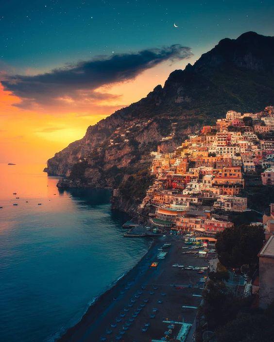 image of Positano Amalfi coast