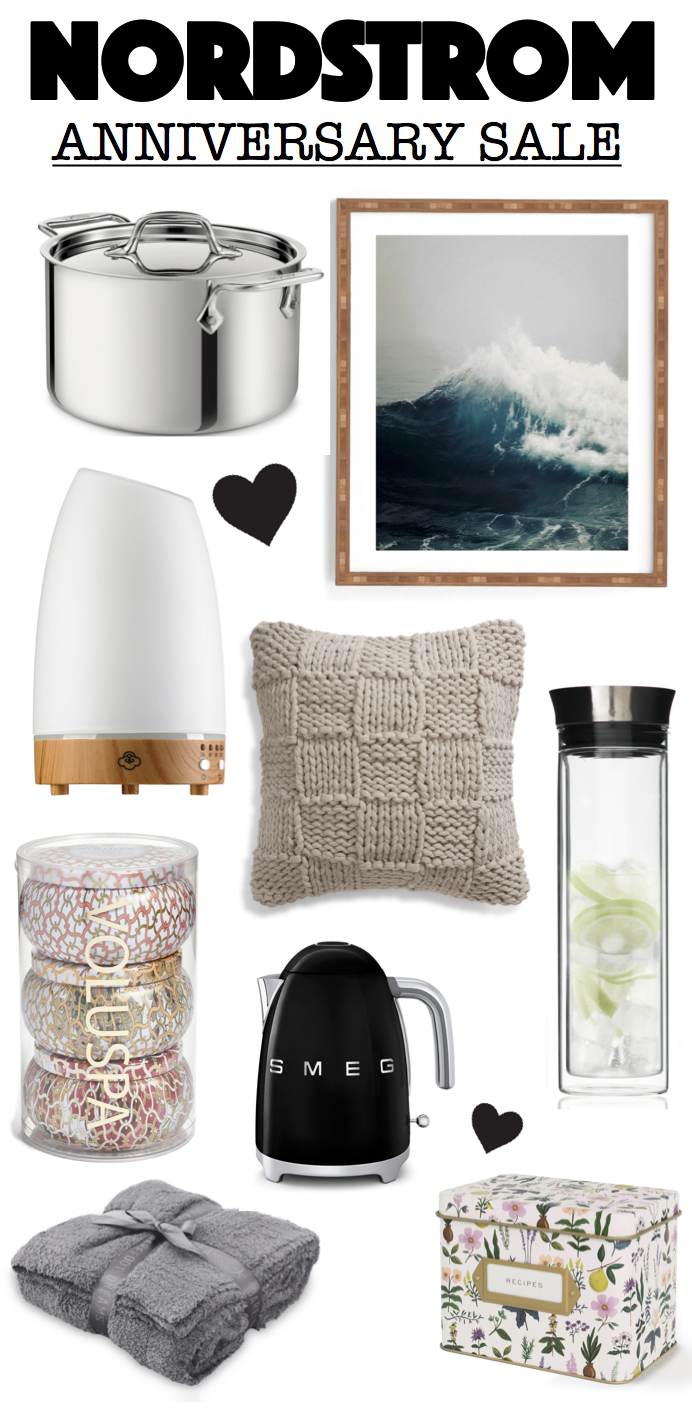 image showing all my favorites for the home from the Nordstrom Anniversary sale