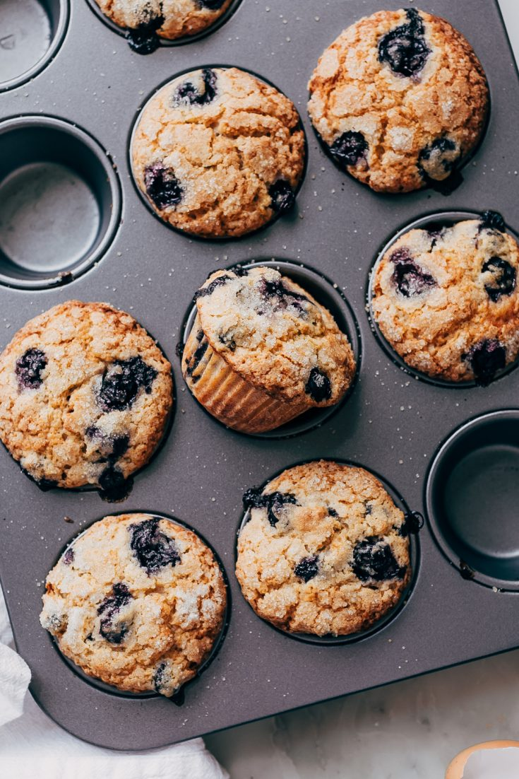 Outrageous Gluten-Free Blueberry Muffins
