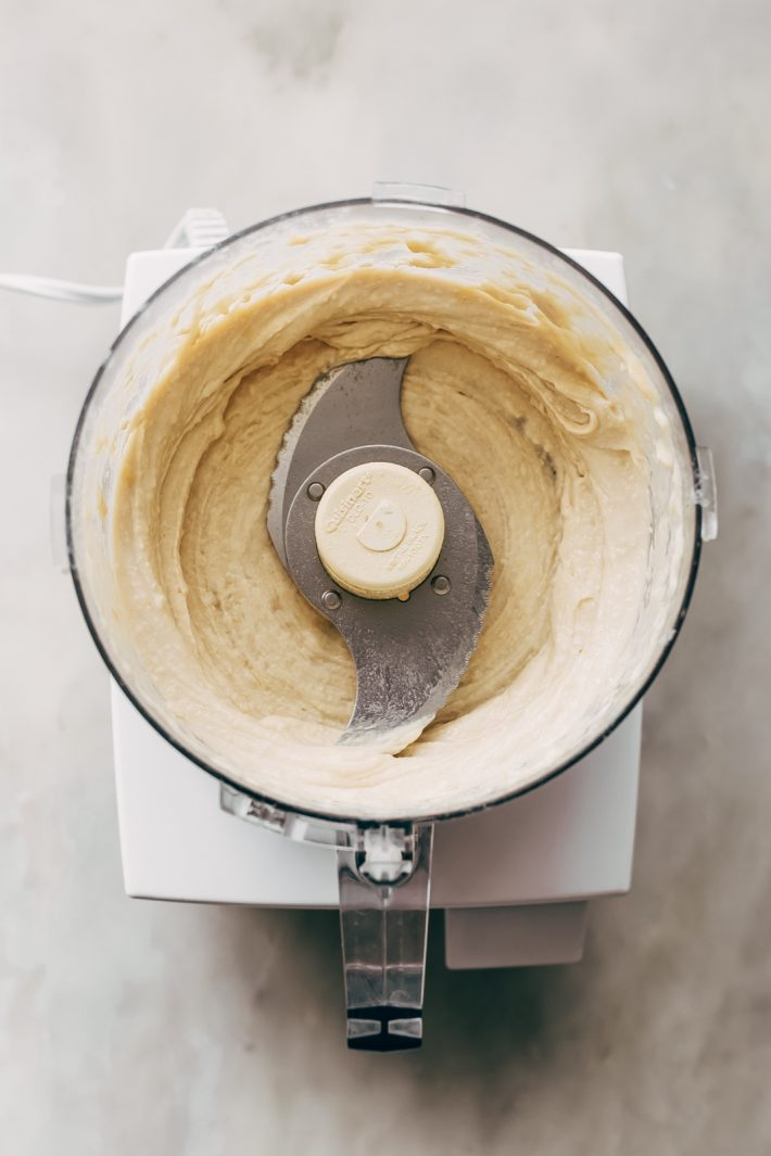 Instant Pot Hummus - learn how to make the smoothest, creamiest hummus, at home! It's so easy and you can freeze it too! #instantpothummus #pressurecookerrecipes #instantpotrecipes #hummus #homemadehummus   Littlespicejar.com