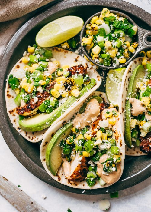 Little spice jar food blog simple flavorful food recipes made easy mexican street corn chicken tacos forumfinder Choice Image