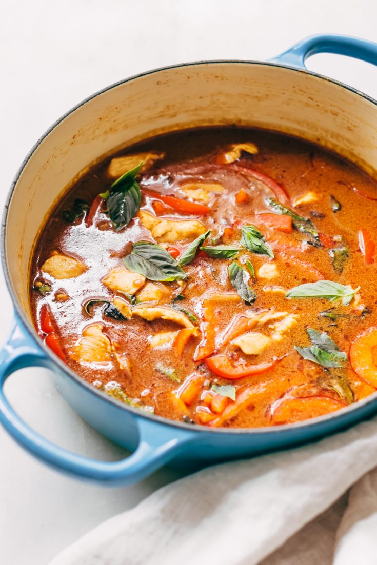 20 Minute Panang Chicken Curry