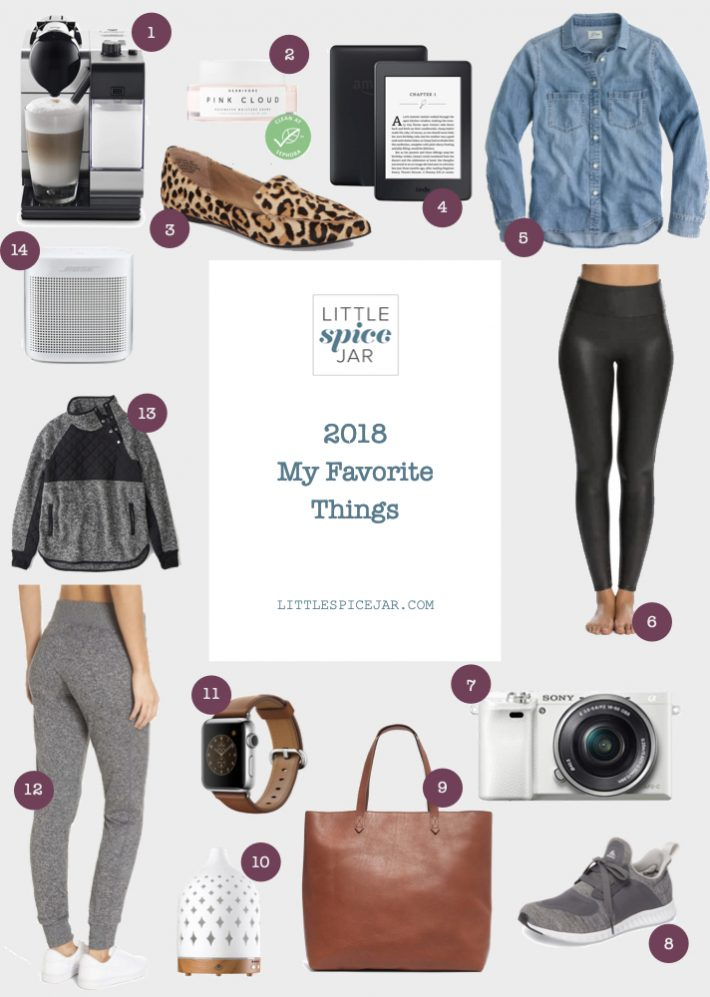 2019 My Favorite Things Holiday Gift Guide - these are all of my favorite purchases for 2018! #holiday #giftguide #holidaygiftguide | Littlespicejar.com