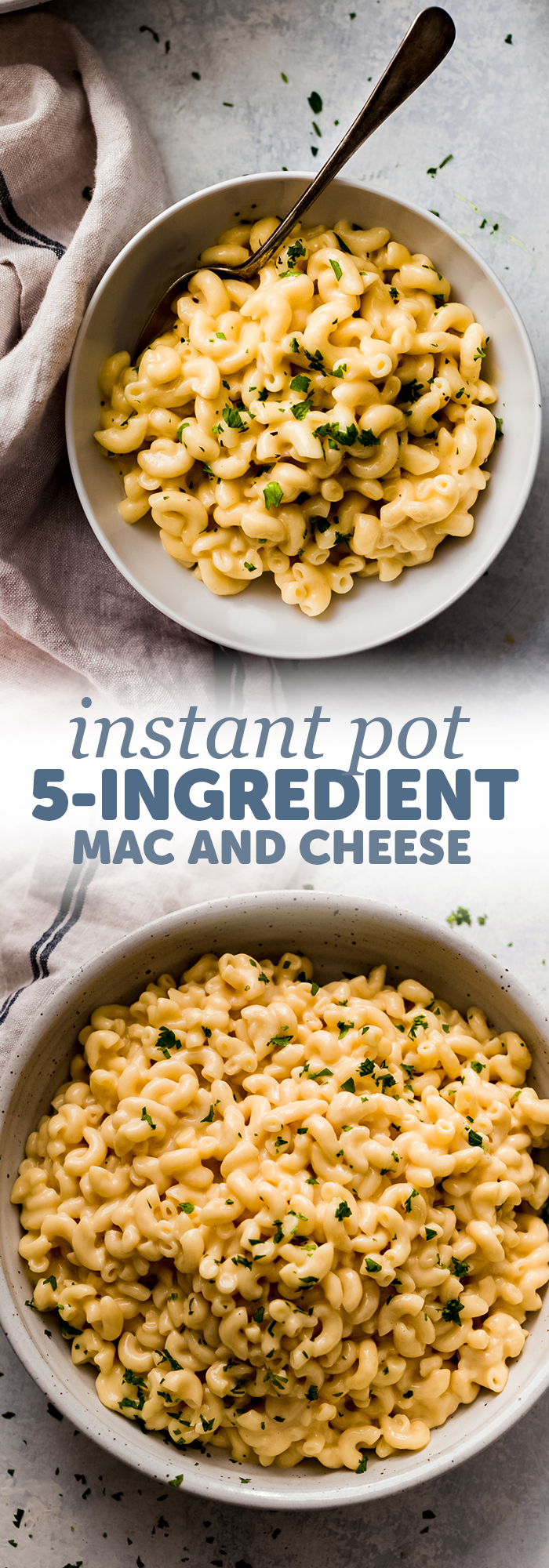 5-Ingredient Instant Pot Mac and Cheese - Learn how to make Mac and cheese in the instant pot with just 5 simple ingredients plus tons of ways to jazz it up! #instantpotmacandcheese #macandcheese #instantpot #thanksgiving | Littlespicejar.com