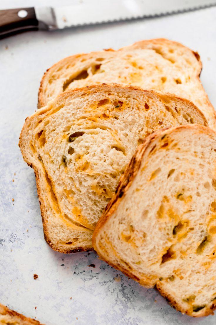 Homemade Jalapeño Cheddar Bread