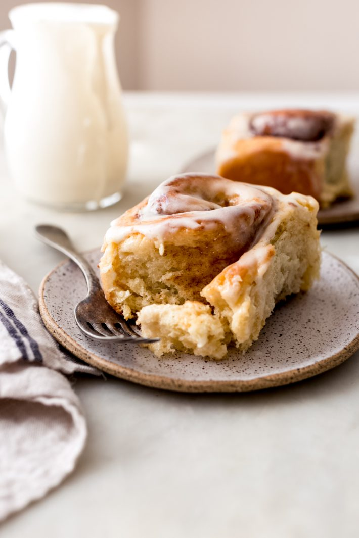 Outrageous 1-Hour Cinnamon Rolls - The best homemade cinnamon rolls that taste better than Cinnabon! And that cream cheese icing - so yummy! #cinnaboncinnamonrolls #cinnamonrolls #1hourcinnamonrolls #homemadecinnamonrolls | Littlespicejar.com