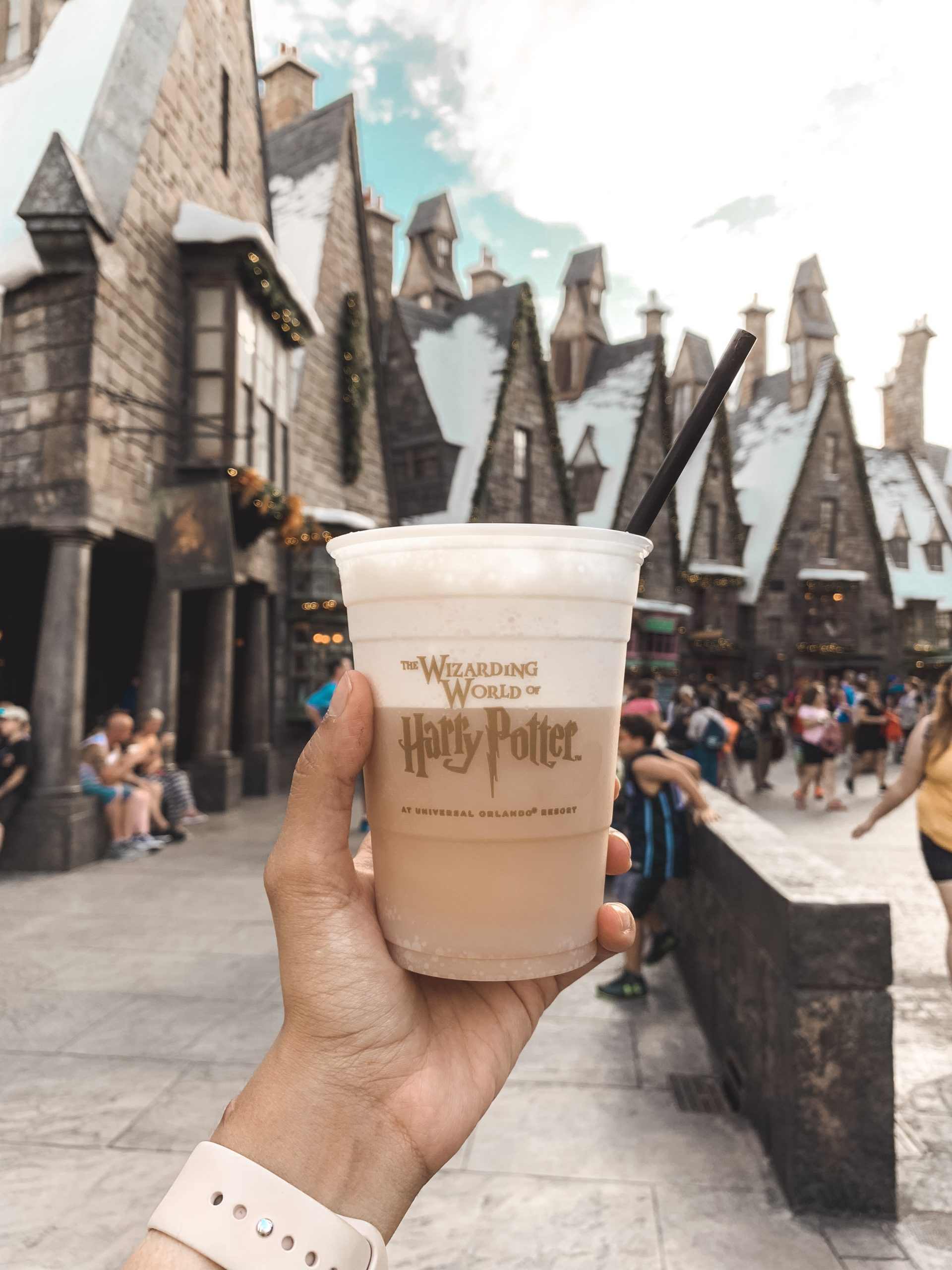 Butter Beer at the Wizarding World of Harry Potter