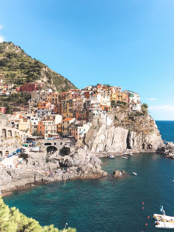 Cinque Terre - the five fishing villages in Italy