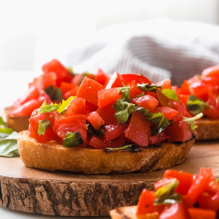 Fresh Tomato Basil Bruschetta Recipe Little Spice Jar
