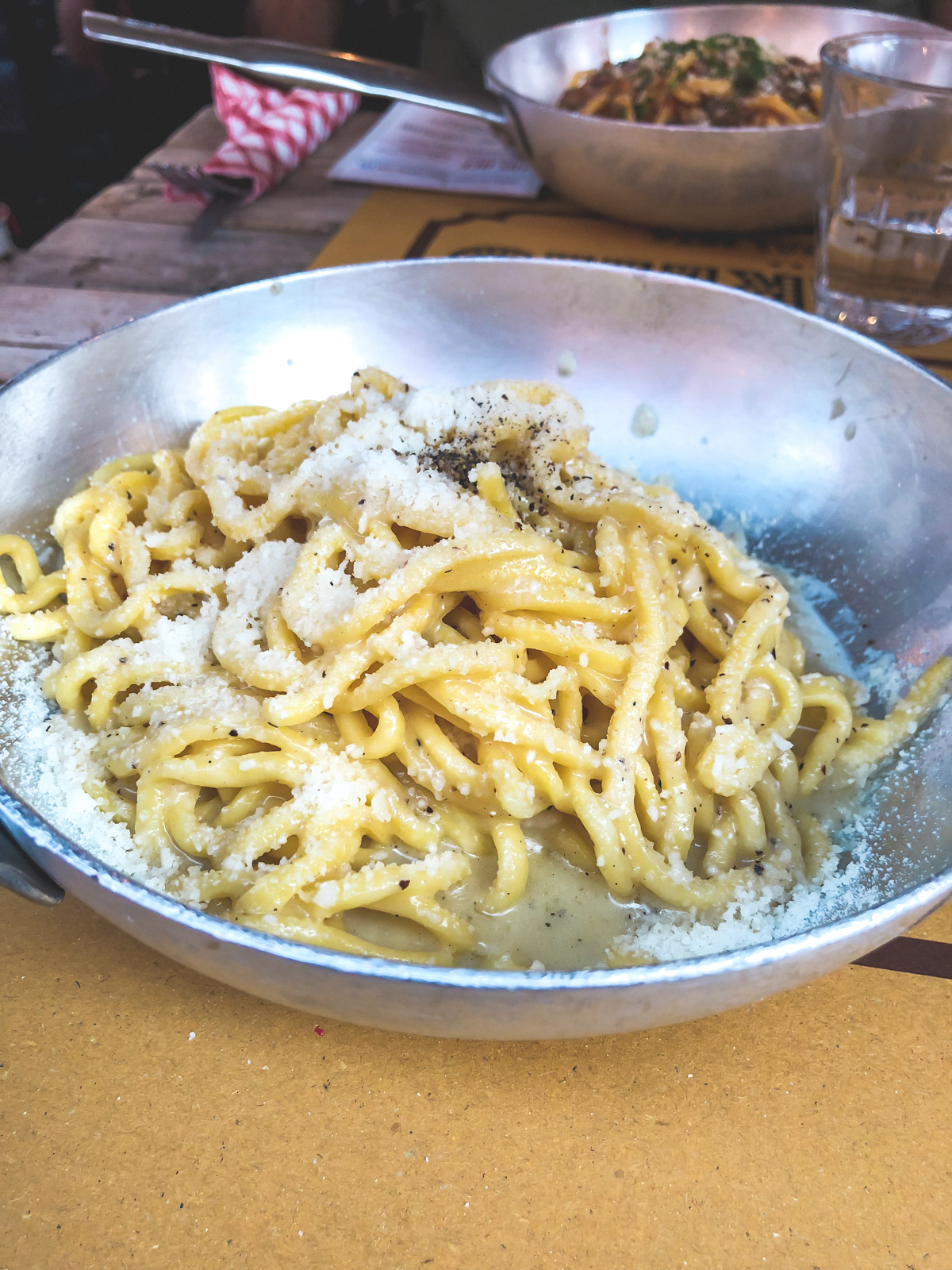 cacio e Pepe from Tonarello in Trastevere