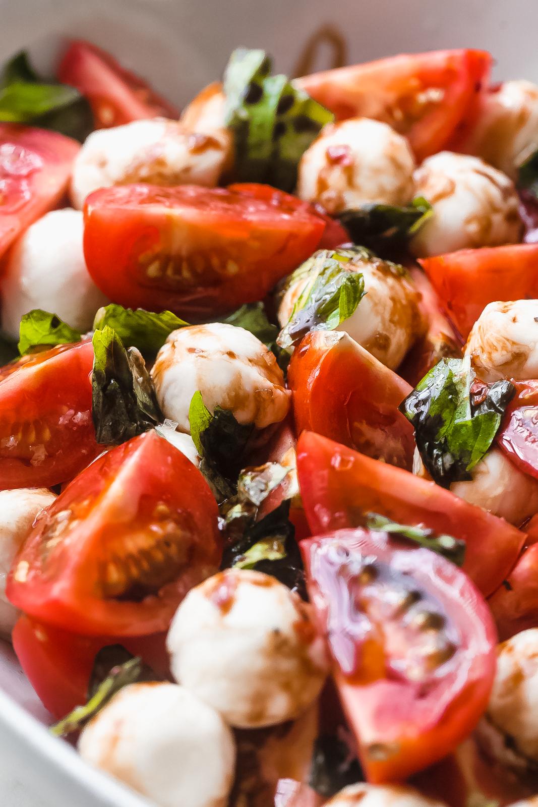 15+ Marinated Mozzarella Tomato Salad Recipe   Little Spice Jar Galerie