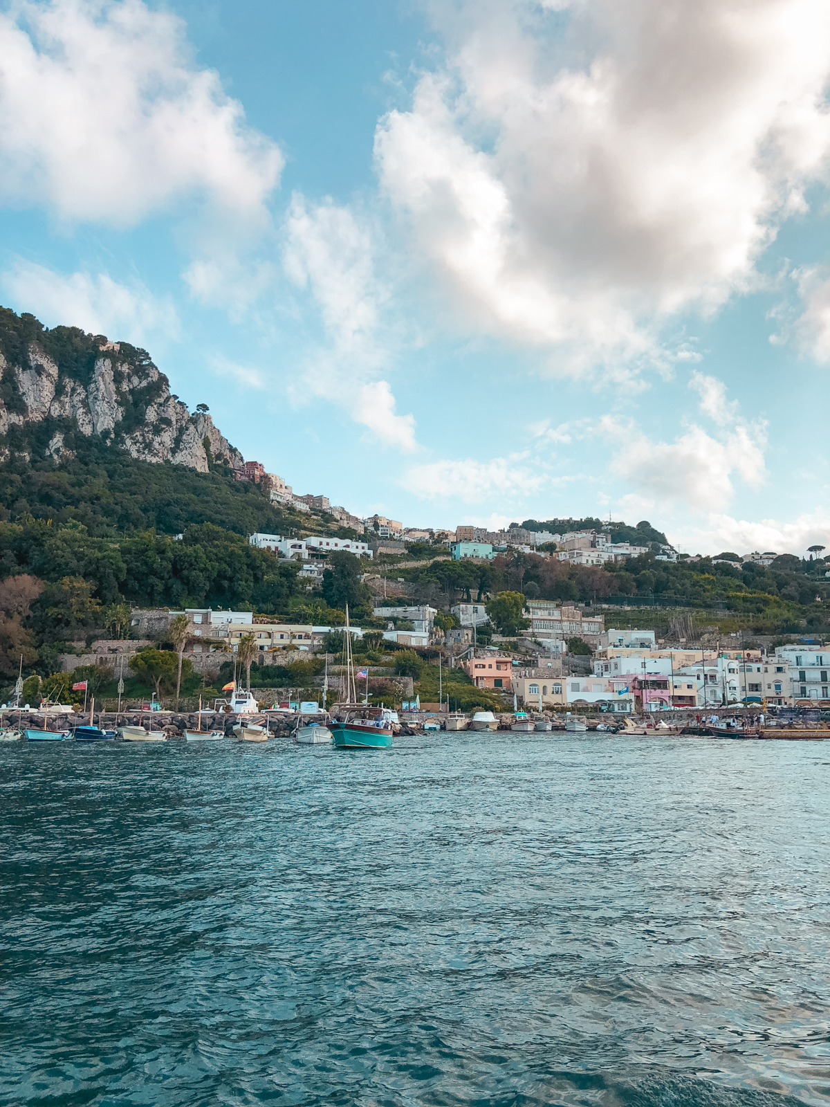 capri from a distance