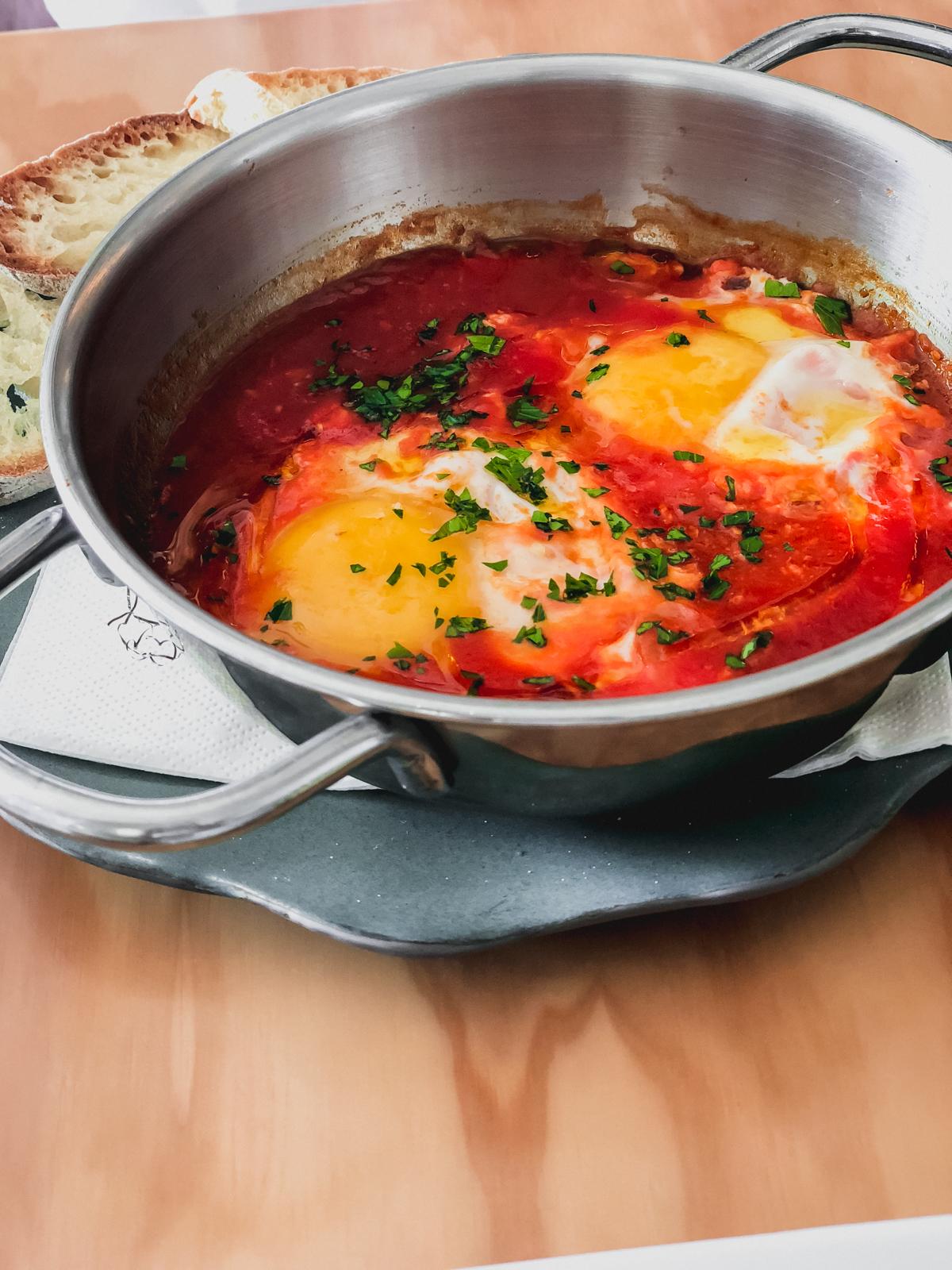 eggs in purgatory from casa e bottega