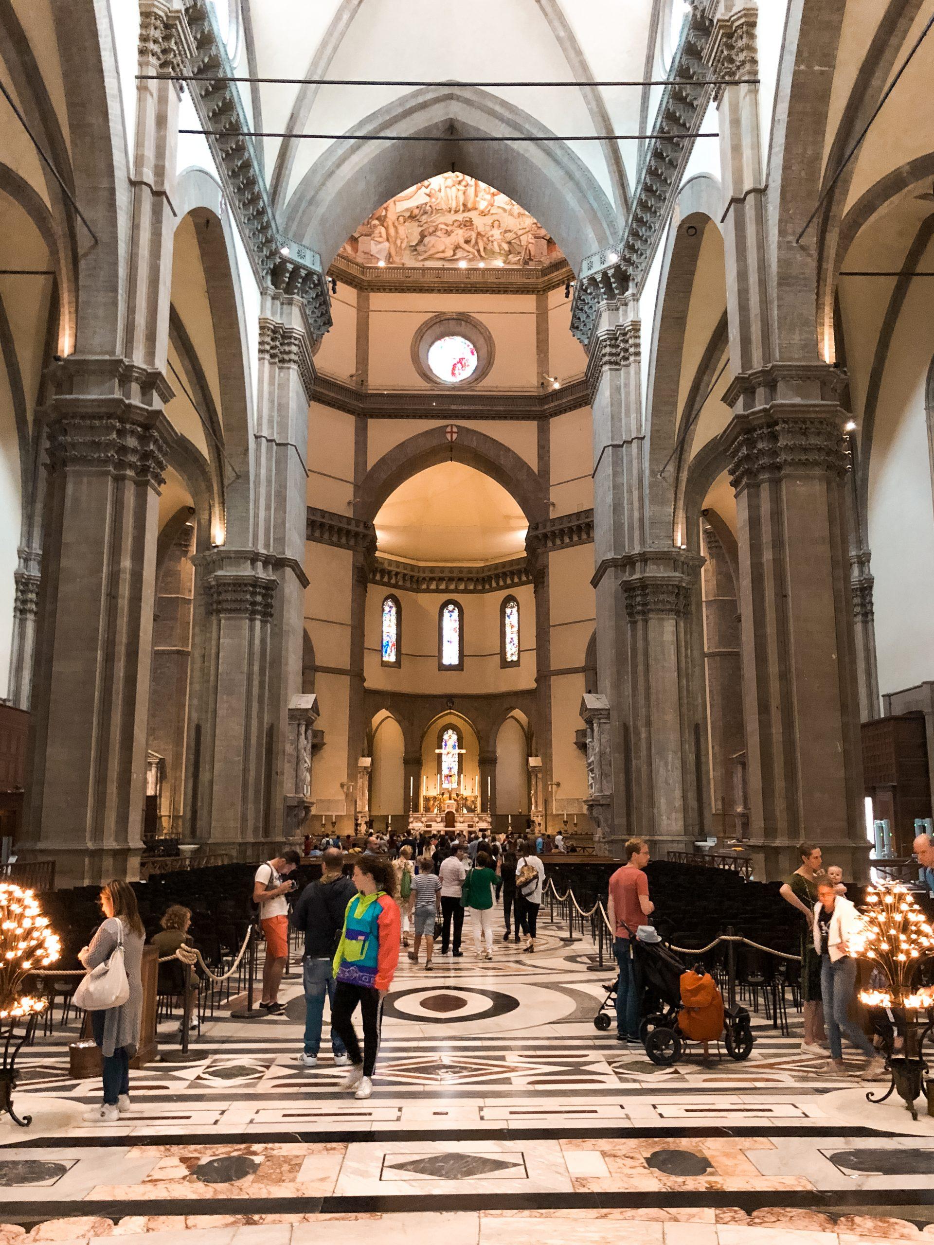 inside Duomo Di Firenze