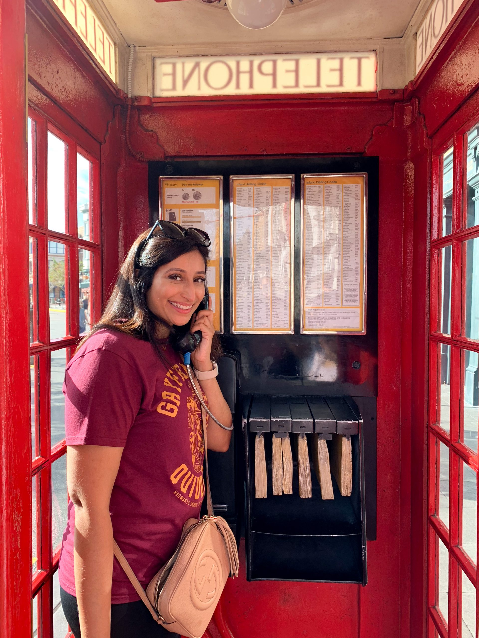 dialing the ministry at the Wizarding World of Harry Potter