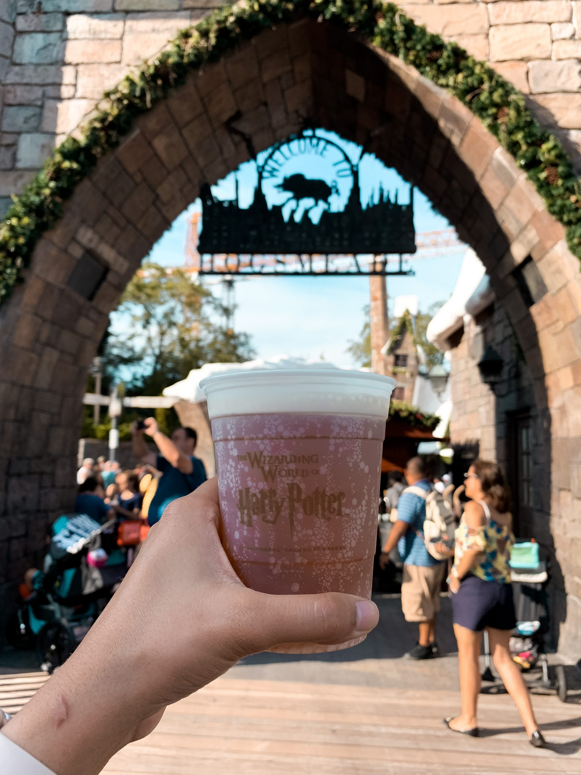 Butter Beer at Hogsmeade at Universal Studios Orlando