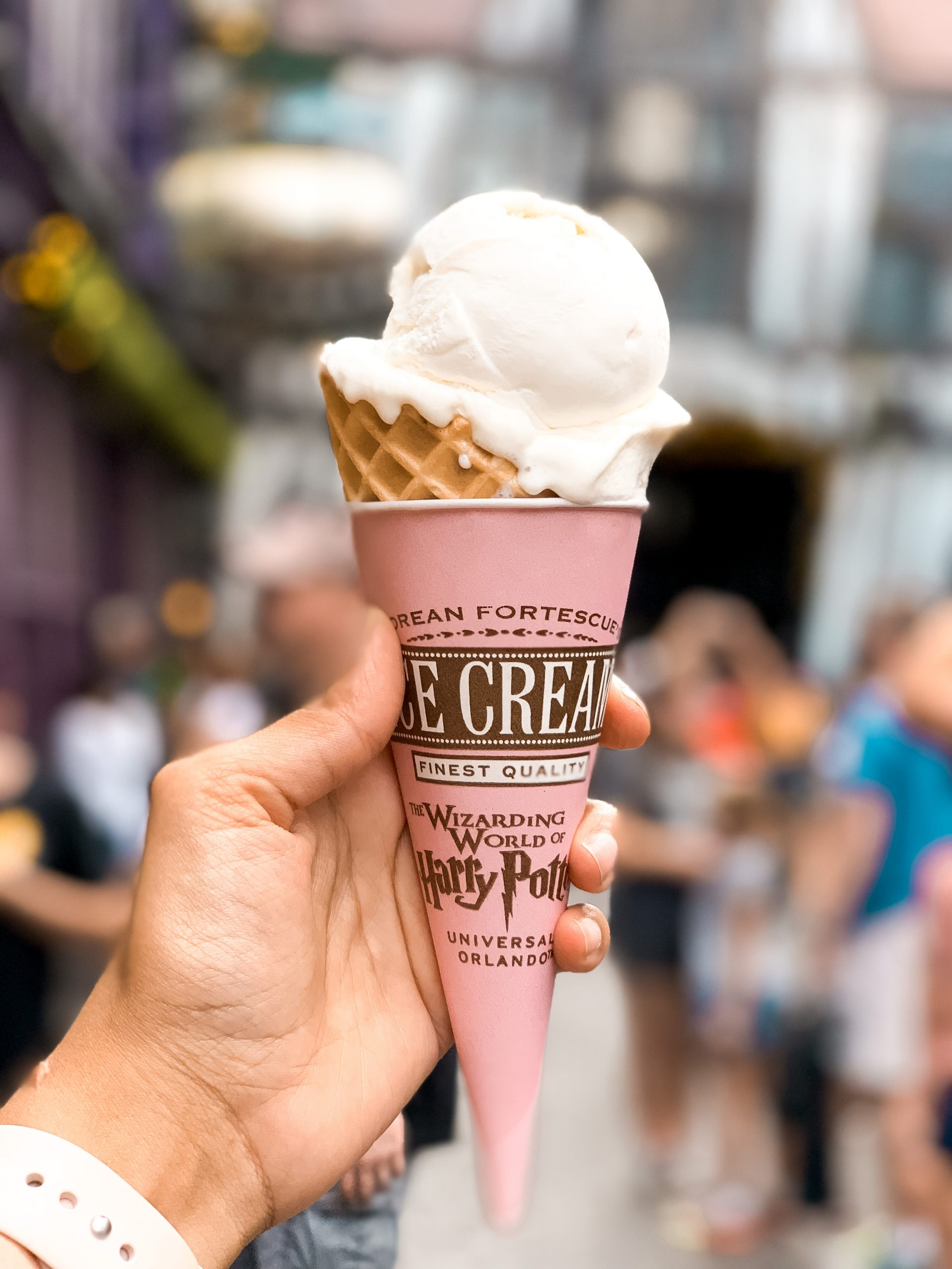 Florean Fortescue's ice cream at the Wizarding World of Harry Potter Universal Orlando