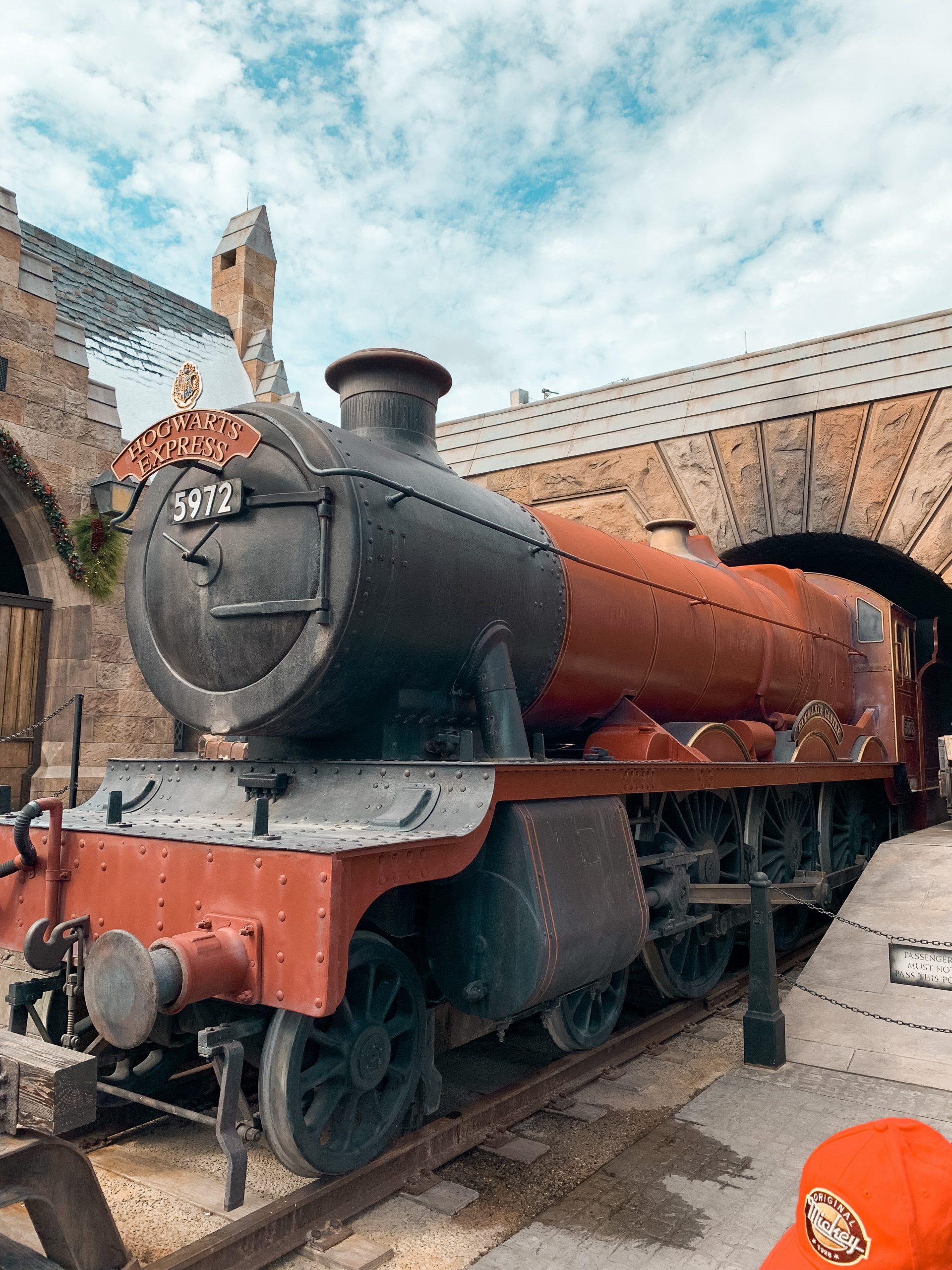 The Hogwarts Express at Universal Studios Orlando