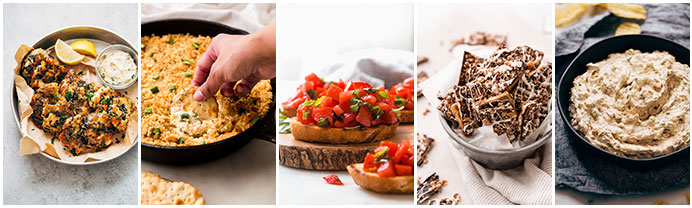 a collage of the next 5 recipes shared below