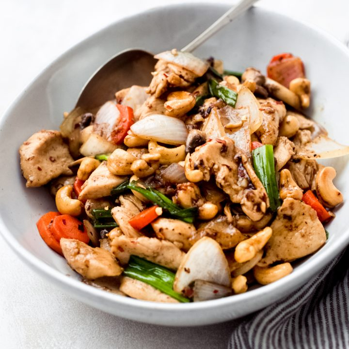 Thai Cashew Chicken Recipe Better Than Take Out Little Spice Jar