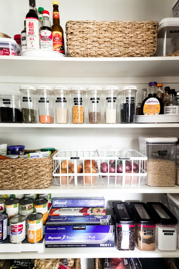 Organizing Your Kitchen Pantry